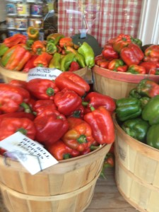 Farmstand Peppers