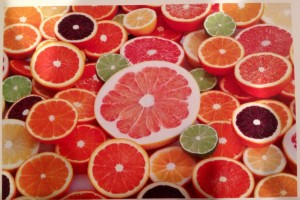 Sunkist Citrus rounds