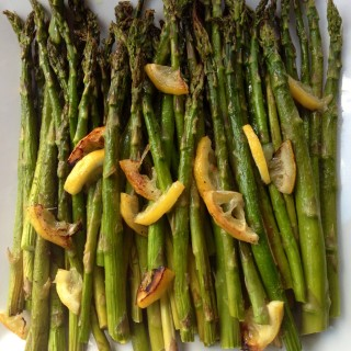 Lemon Roasted Springtime Asparagus