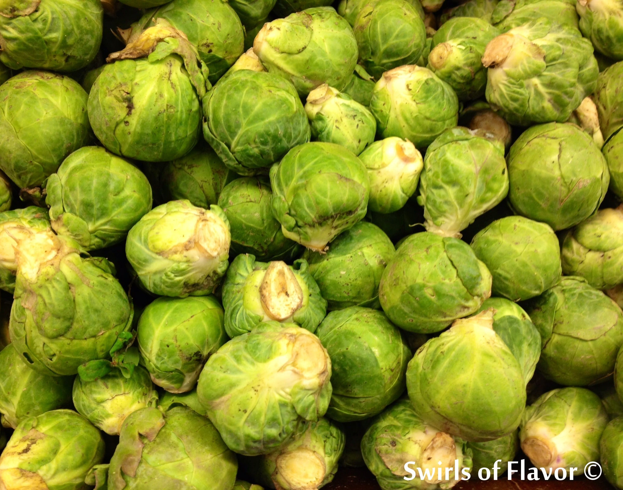 pile of Brussels sprouts