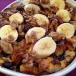 """Chunky Monkey"" Bread Pudding"