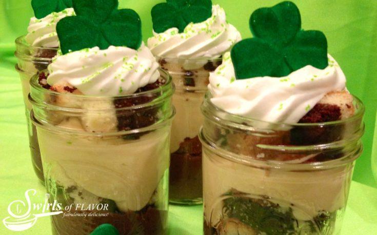 Baileys Irish Cream Pudding Parfaits
