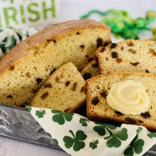 Irish soda Bread in basket