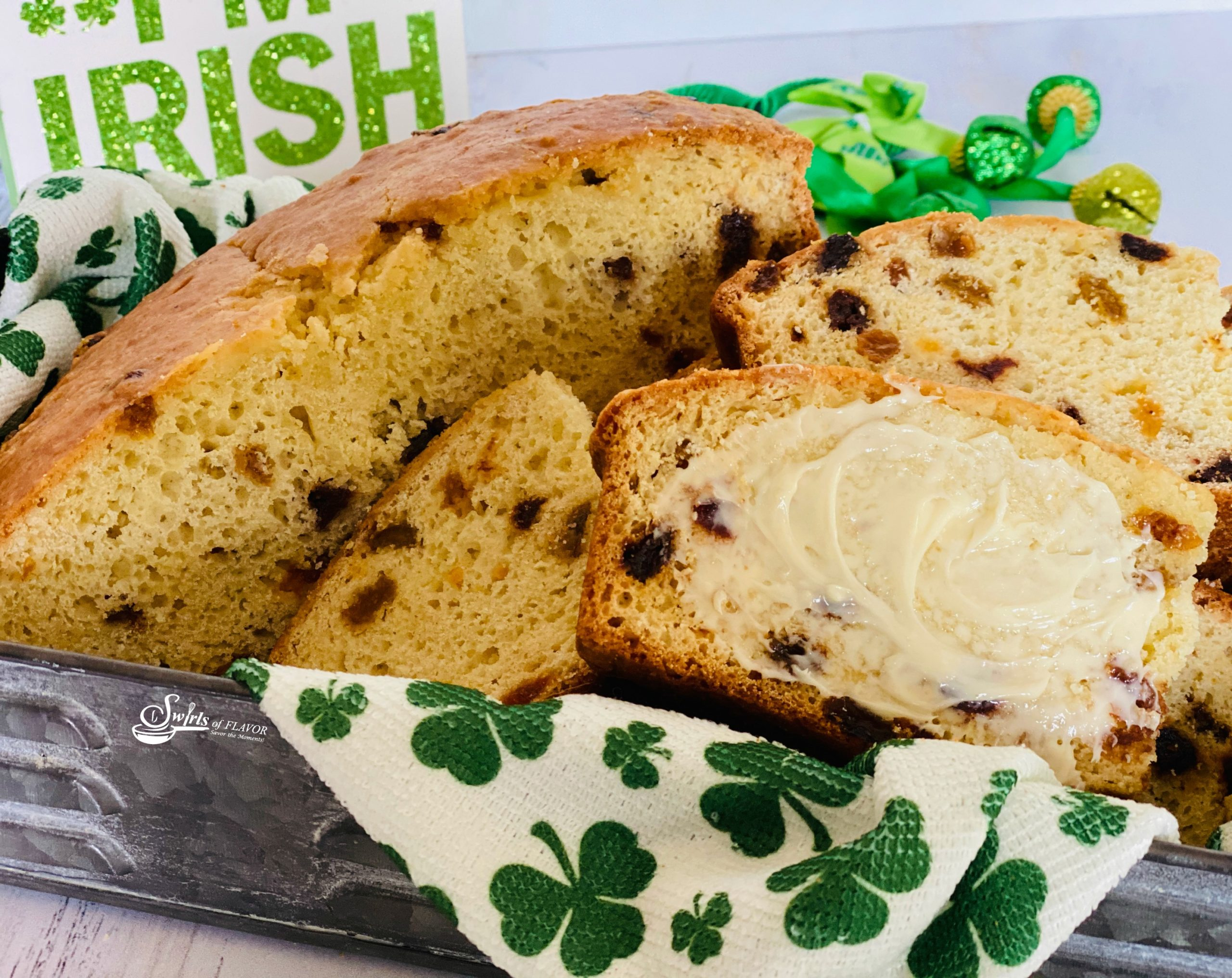 Irish Soda Bread with butter