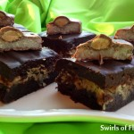 brownies with coconut and almonds
