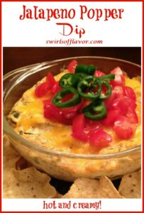 hot jalapeno dip with text overlay