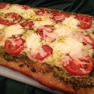 Fontina Pesto Artisinal Pizza