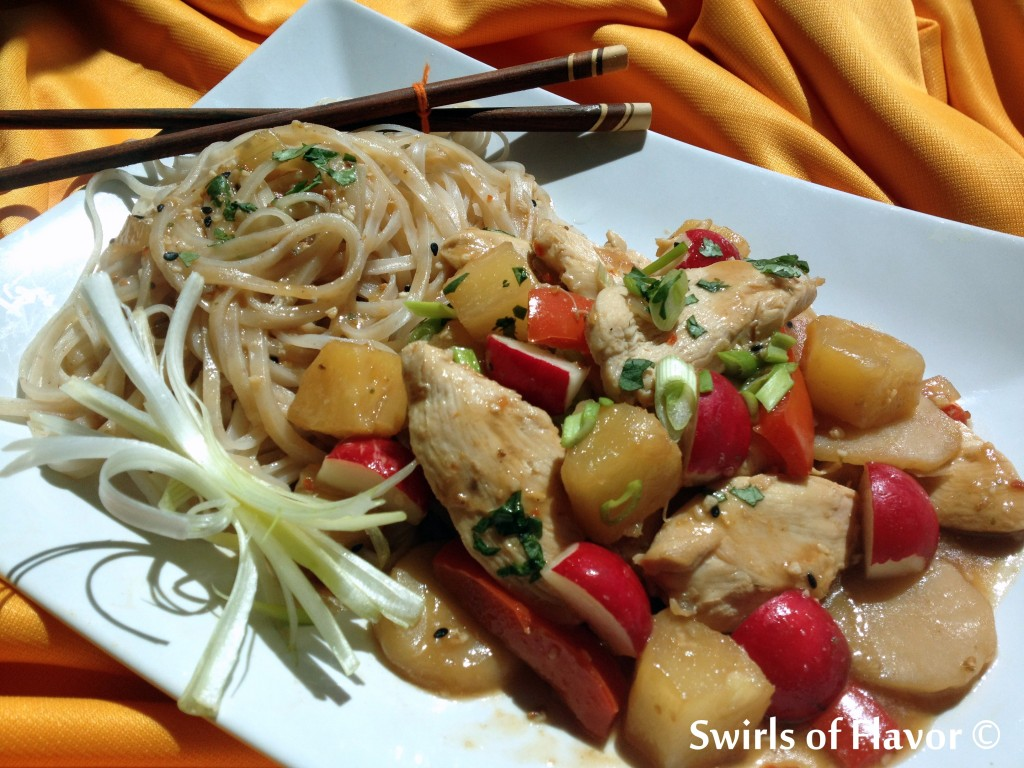 Sweet & Sour Ginger Chicken