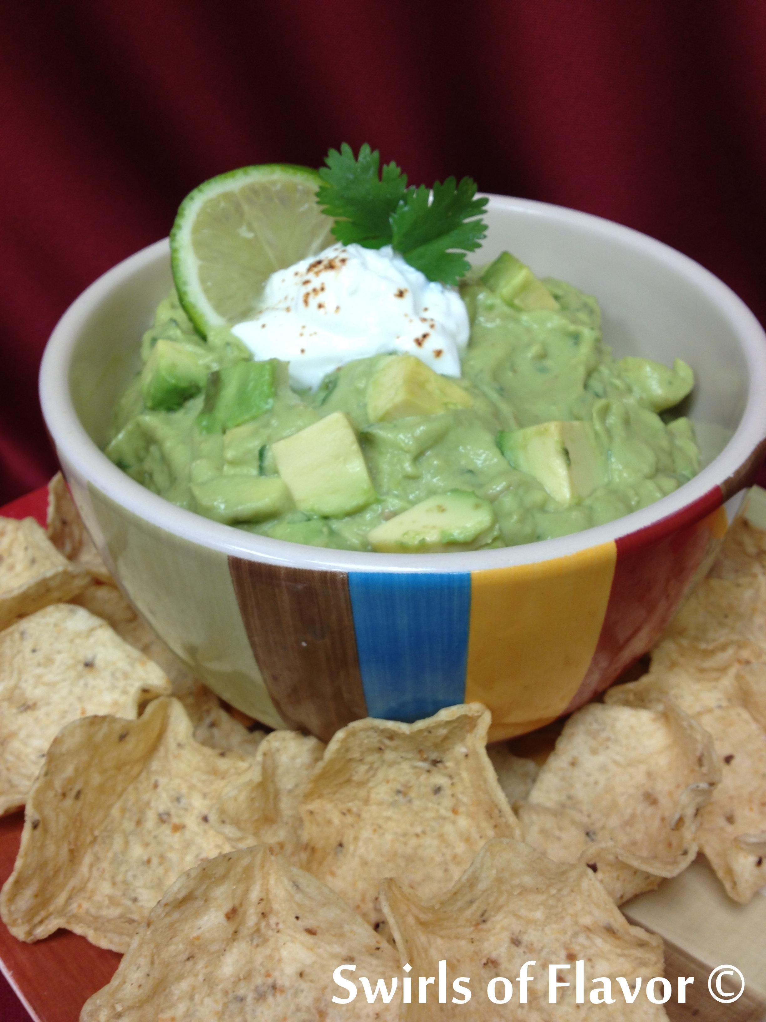 Chipotle Guacamole - Swirls of Flavor