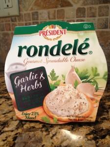 garlic herb spread - product pix