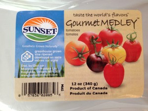 Gourmet Tomatoes package