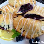 Glazed Blueberry Hand Pies