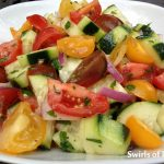 Heirloom Tomato & Cucumber Summer Salad