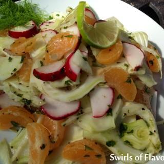 Fresh Fennel & Mandarin Salad