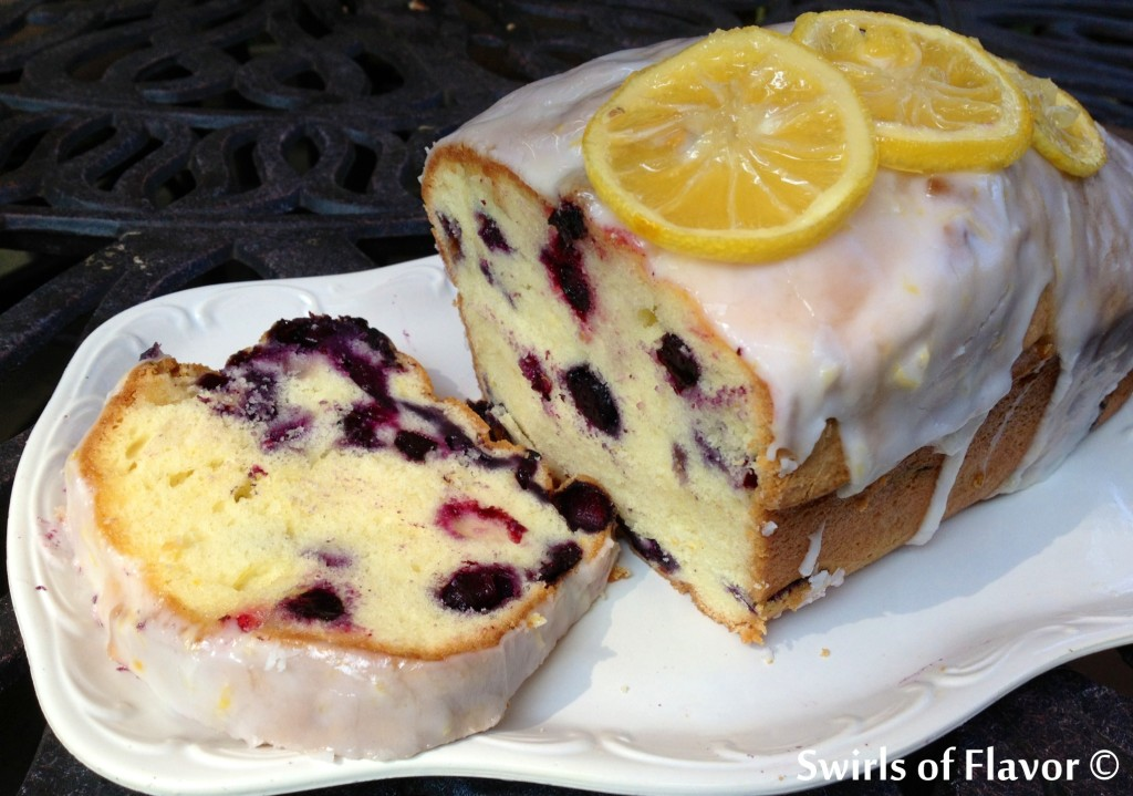 Meyer Lemon Blueberry Poundcake 2