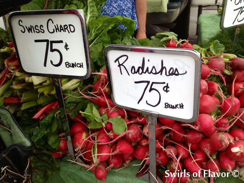 OFM Swiss Chard Radishes