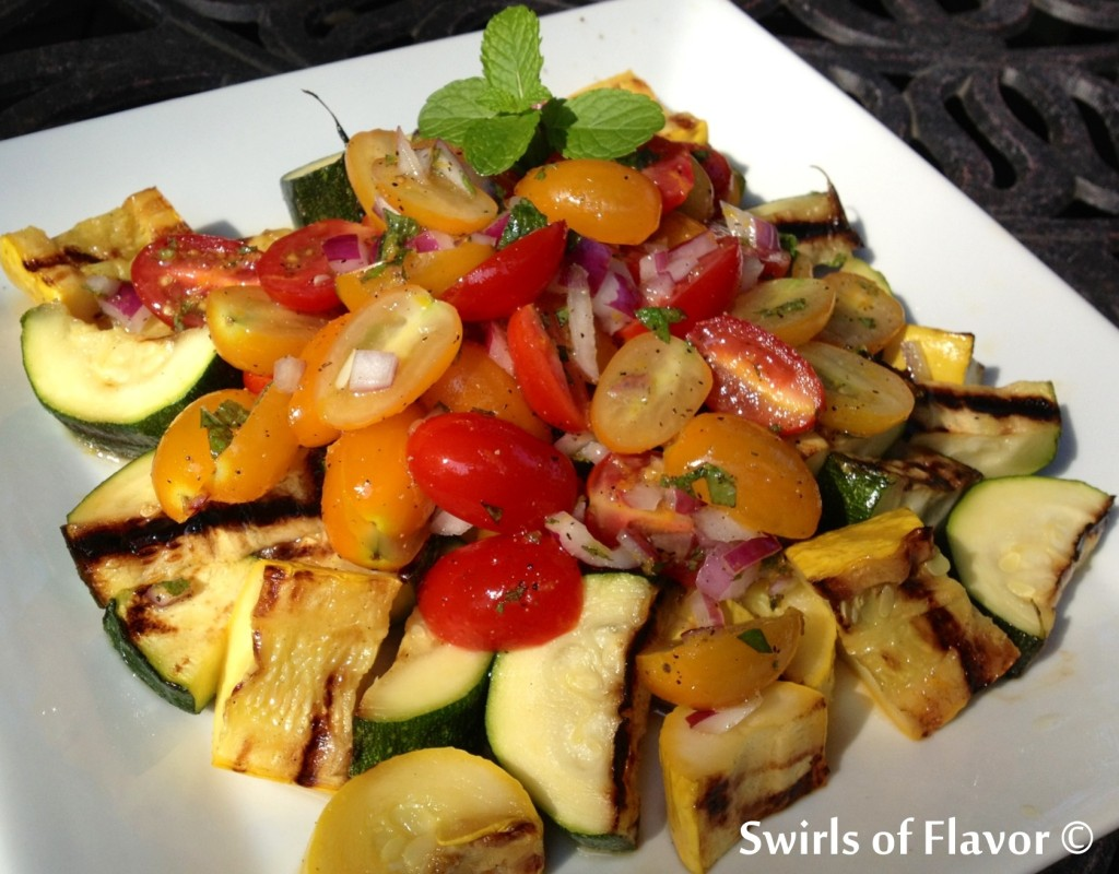Zucchini Tomato Medley 1