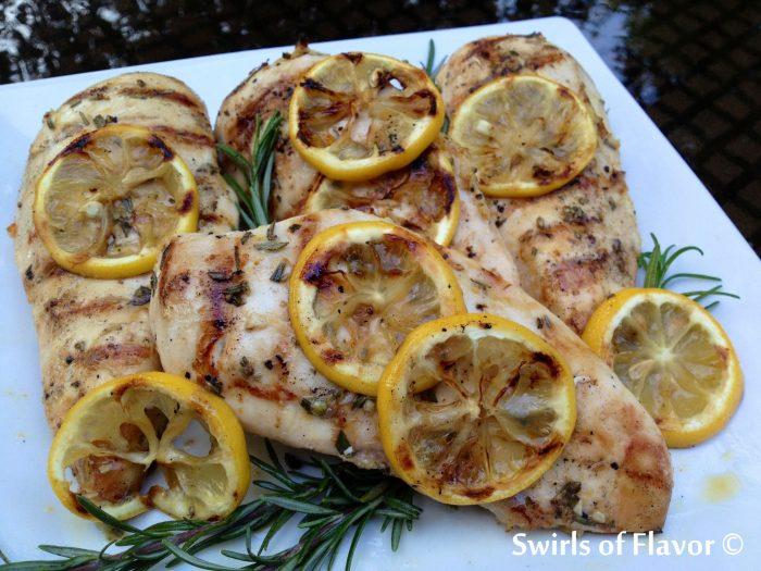 Rosemary Lemon Grilled Chicken 2