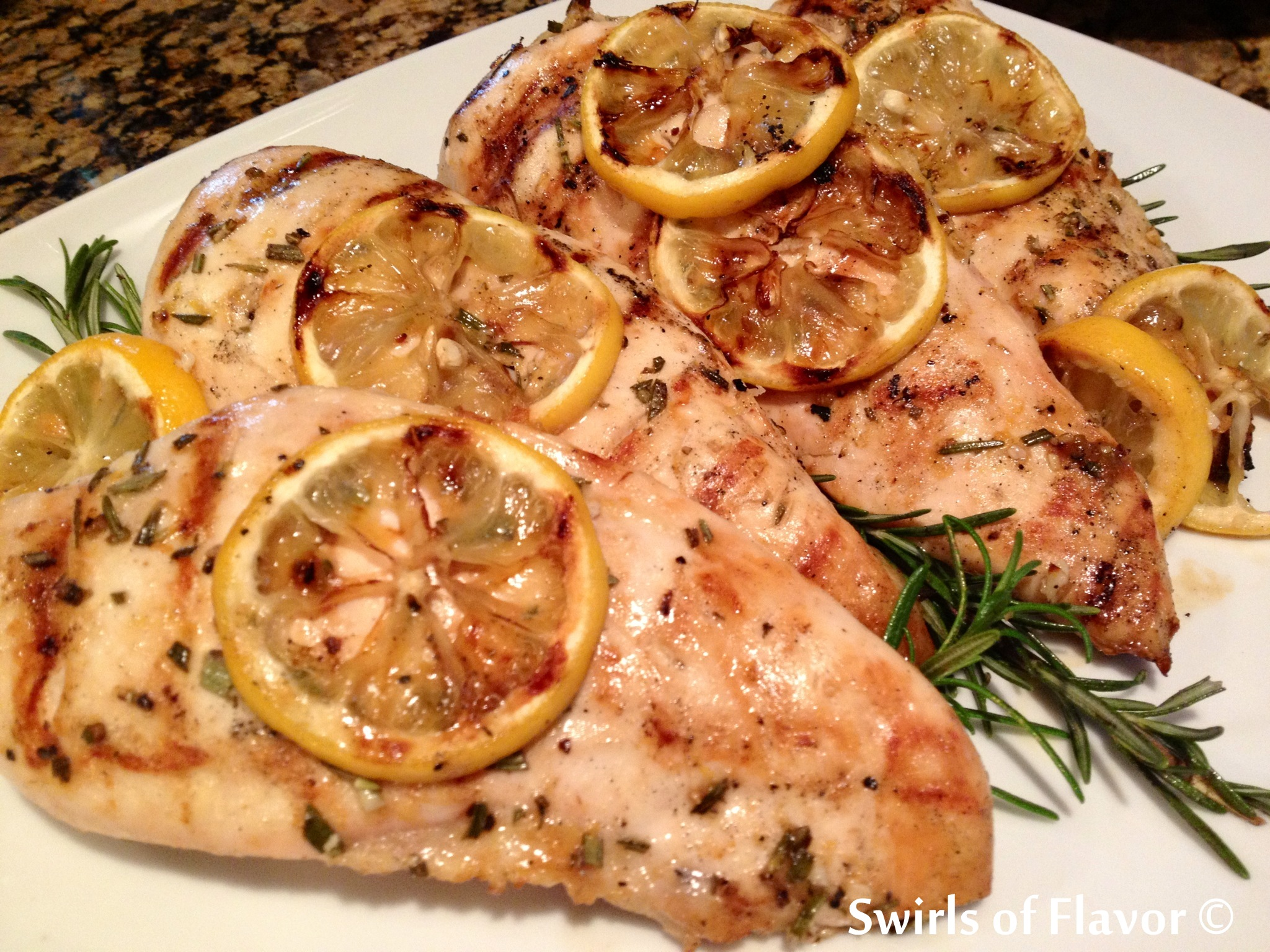 Grilled Rosemary Chicken Recipe — Dishmaps