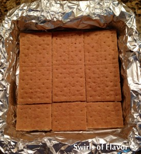 S'mores Grahams for brownies