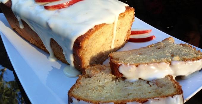 Cinnamon Honey Apple Loaf Cake