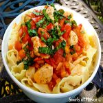 Pasta Pomodoro Balsamico with Chicken