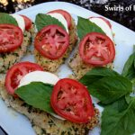 Panko Chicken Caprese