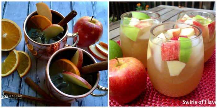 Apple Cider Moscow Mules and Apple Cider Sangria