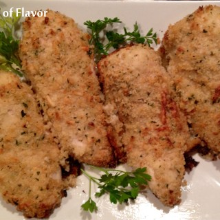 Parmesan Caesar Panko Crusted Chicken