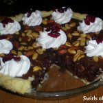 Cranberry Truffle Mixed Nut Pie