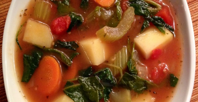Hearty Potato Kale Soup