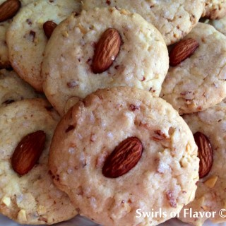 Coconutty Almond Sugar Cookies