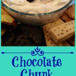With just a few ingredients and a few minutes you'll have Chocolate Chunk Cannoli Dip ready for entertaining and the holidays! cannoli filling   dip   holiday dessert   entertaining   easy dessert   ricotta cheese   chocolate