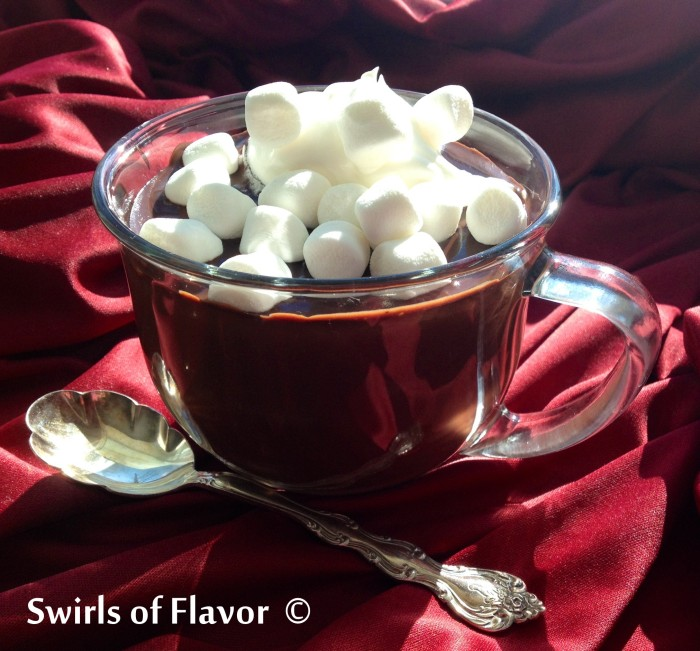 Italian hot chocolate 1