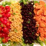 Mexicali Chopped Salad with Cilantro Lime Vinaigrette