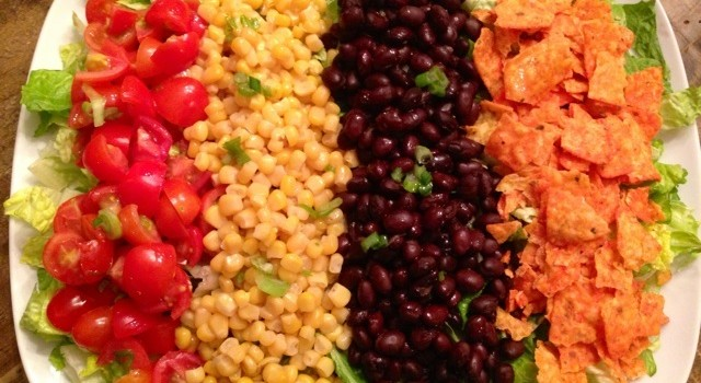 Mexicali Chopped Salad with Cilantro Lime Vinaigrette