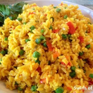 Fiesta Saffron Rice