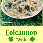 Colcannon With Kale and Leeks, made with the trendy super food kale, is a twist on the traditional colcannon recipe. Our Colcannon With Kaleis an easy recipe made with Yukon gold potatoes and buttery leeks making it a delicious and creamy potato side dish.