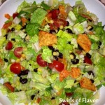 Mexicali Chopped Salad Tossed