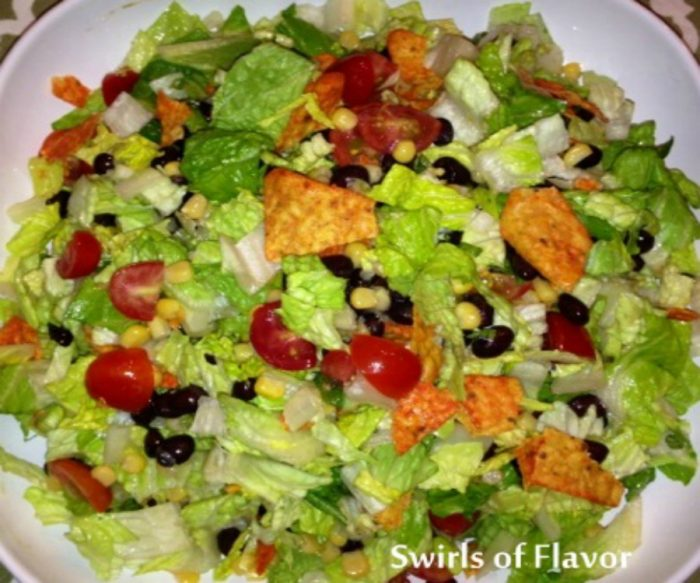 Tossed Mexiclai Choped Salad