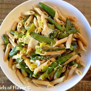 One Pot Springtime Pasta Primavera