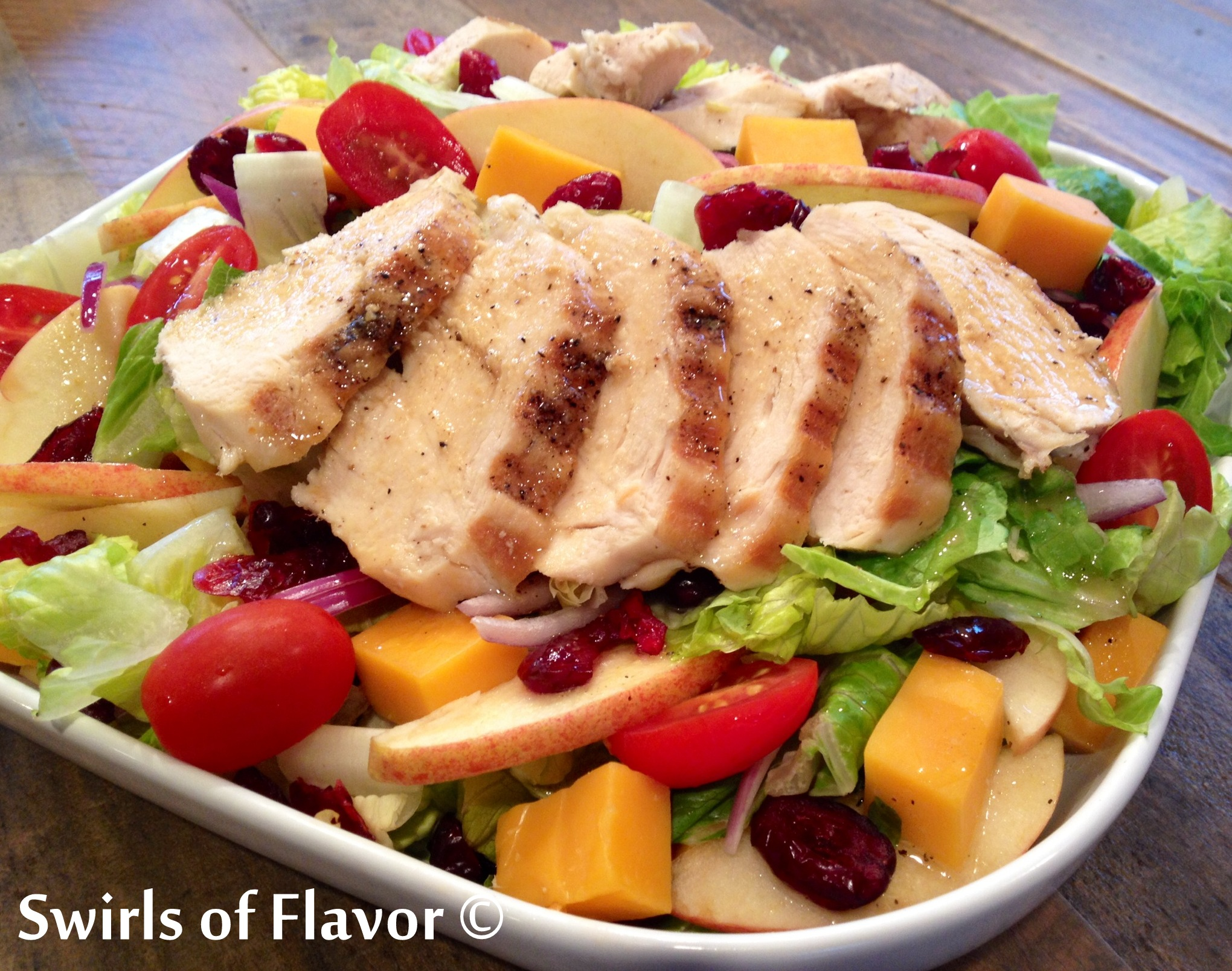 Apple Cheddar Salad