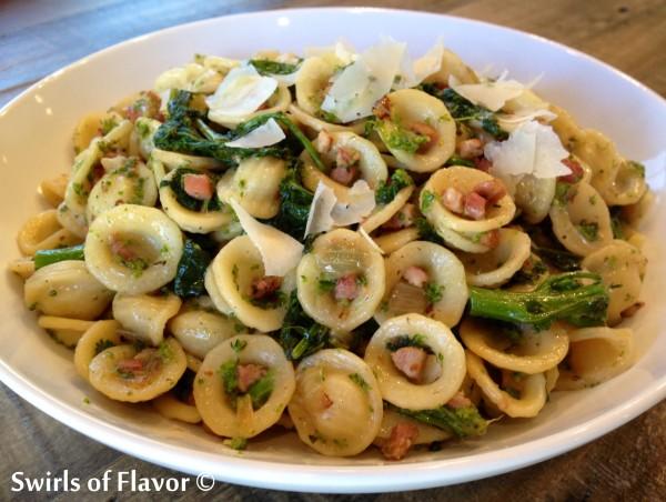 Broccoli Rabe Pancetta Pasta