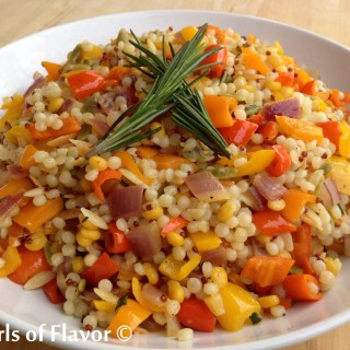 Sweet Mini Peppers Couscous