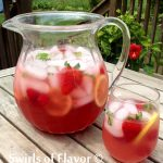 Berry Pink Lemonade Prosecco Punch