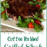 Espresso Rubbed Steak