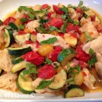 Double Tomato & Zucchini Chicken Stir Fry
