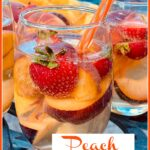 sangria with summer fruits