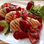 Strawberry Basil Margarita Chicken