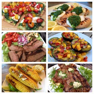 Perfect recipes for your summertime, or anytimg, grillng! Grilled pizza, steak, chicken, corn and avocados! grilling | barbecue | grilled chicken | steak salad | avocados | salsa | gorn on the cob | pizza